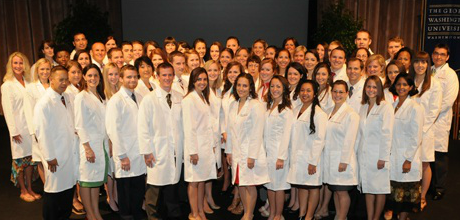 Physician Assistant White Coat Ceremony | The School of Medicine ...