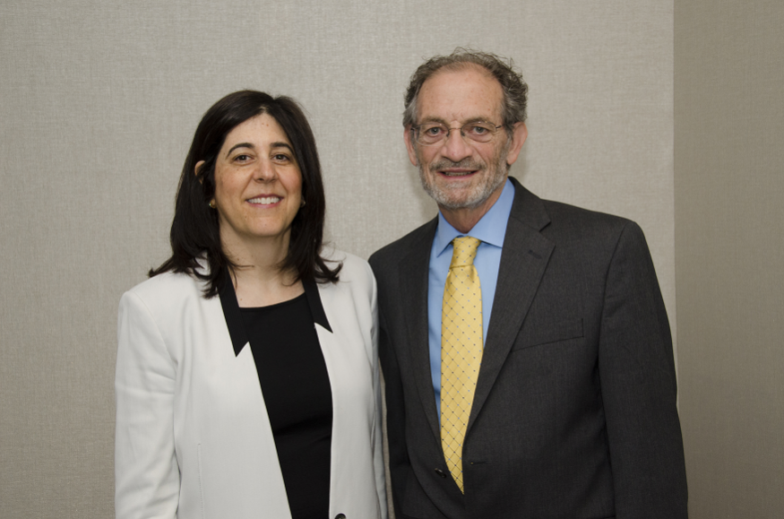 Miriam Steele, Ph.D., and James Griffith, M.D.