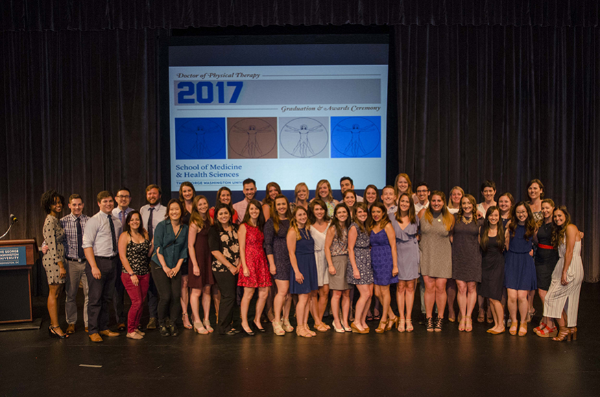 The Doctor of Physical Therapy Class of 2017