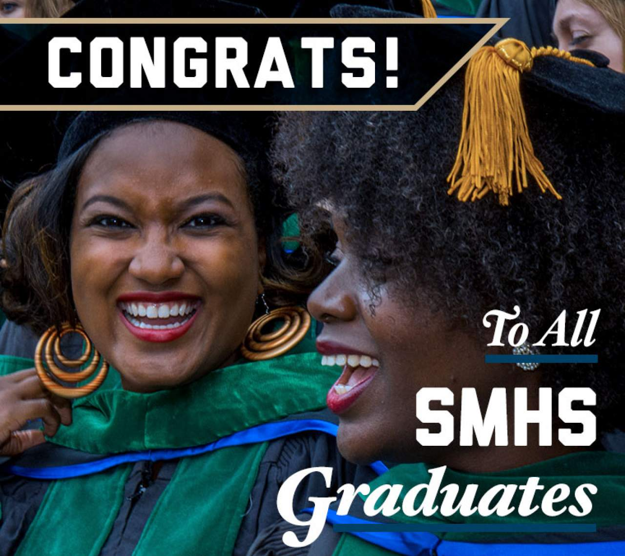 Congrats to all SMHS graduates