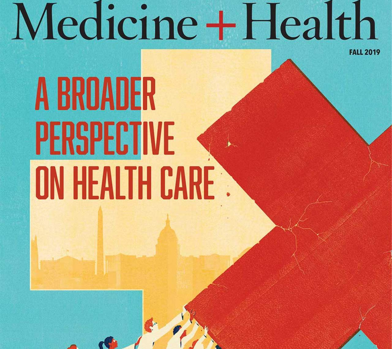 Medicine and Health Fall 2019 cover edition