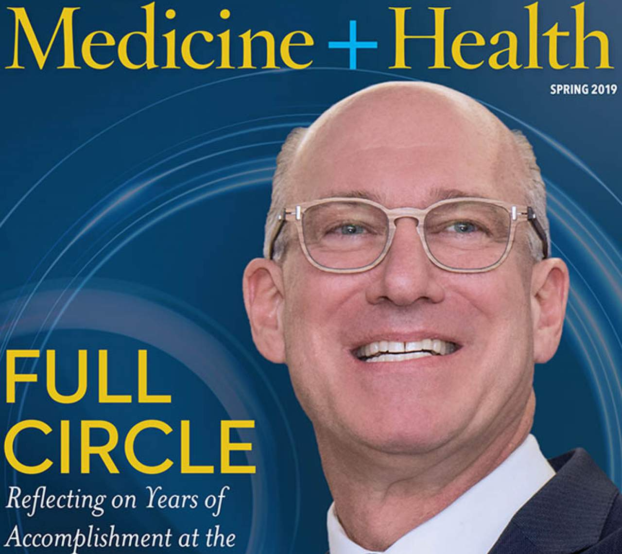 Medicine and Health Spring 2019 cover edition