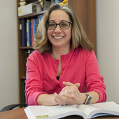 Marcia Firmani, PhD, MSPH, chair of the Department of Biomedical Laboratory Sciences