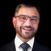 Sanjay B. Maggirwar, PhD, MBA, chair of the Department of Microbiology, Immunology, and Tropical Medicine at the GW School of Medicine and Health Sciences