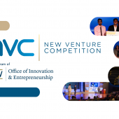 GW New Venture Competition website image
