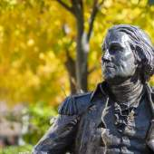 George Washington Statue on Foggy Bottom Campus