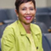Yolanda Haywood, MD, RESD '87, BA '81, associate dean for diversity, inclusion, and student affairs and associate professor of emergency medicine