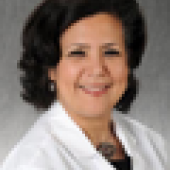 "Jehan ""Gigi"" El-Bayoumi, MD, executive director of the Rodham Institute and professor of medicine and of prevention and community health"