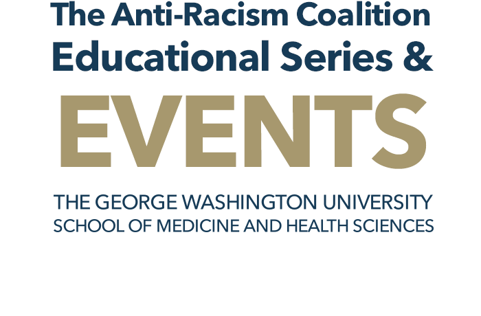 Anti-Racism Coalition Educational Series Banner