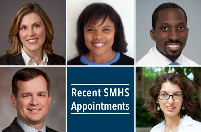 Group of new appointees