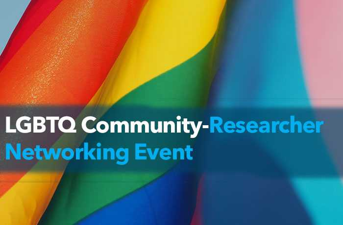 LGBTQ Community Research Event Banner