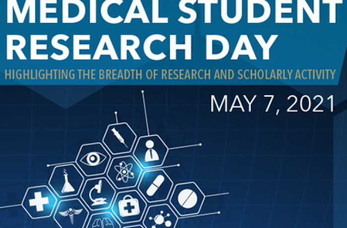 Medical Student Research Day 2021 Event May 7 2021