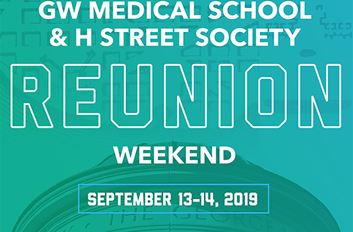 Reunion Weekend 2019 Event Banner