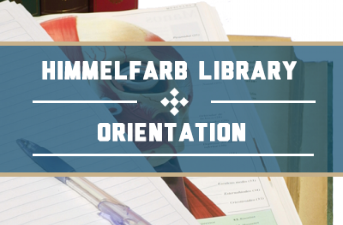 Himmelfarb Library Orientation for Dermatology Residents