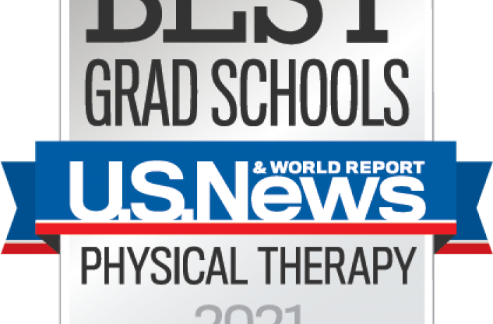 US News 2021 Best Grad Schools Physical Therapy Badge