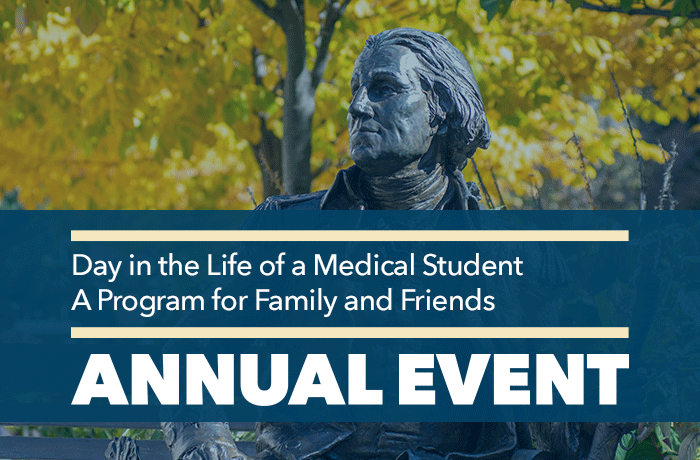 Day in the Life of a Medical Student Event Banner
