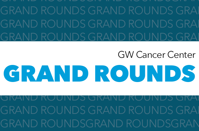 GW Cancer Center Grand Rounds Banner
