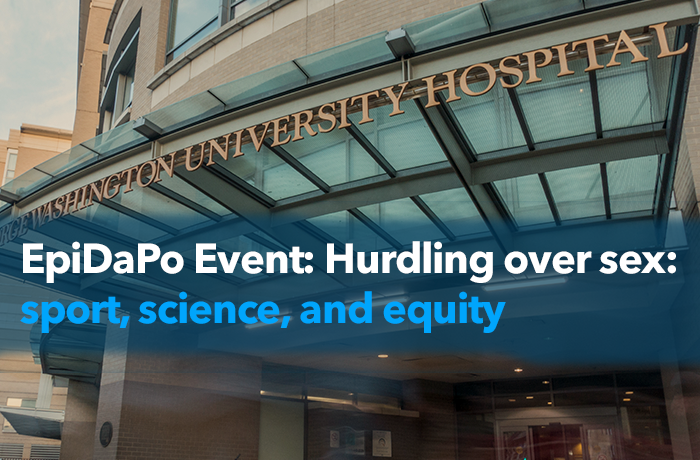 EpiDaPo Event: Hurdling over sex: sport, science, and equity Event Banner