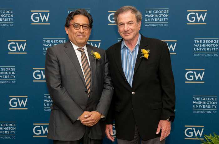 Eduardo M. Sotomayor, MD poses with Jay Katzen, MD
