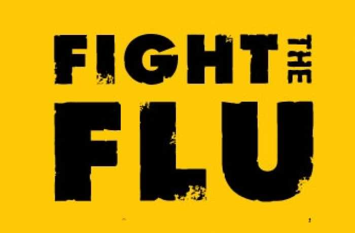 Fight the flu banner