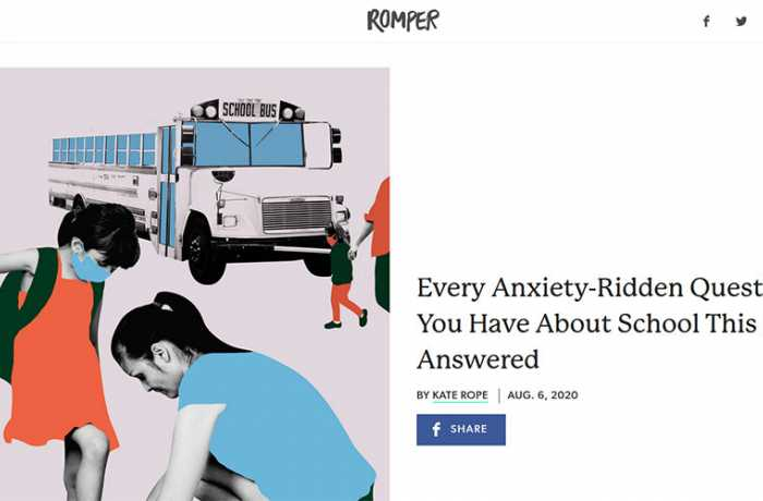 Romper - Every Anxiety-Ridden Question You Have About School This Fall, Answered