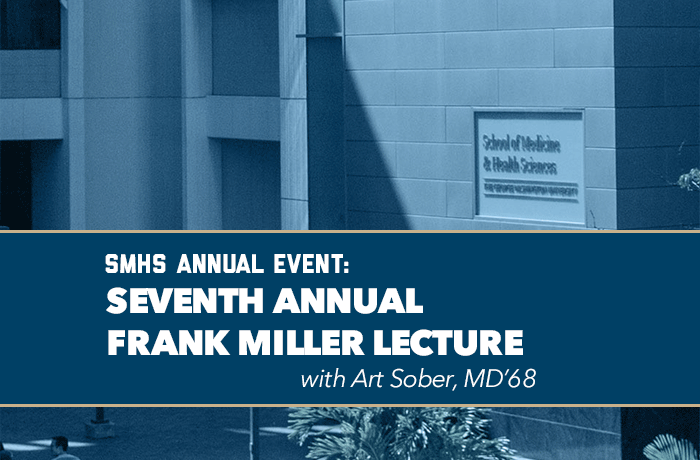 Frank Miller Lecture with Art Sober Event Banner