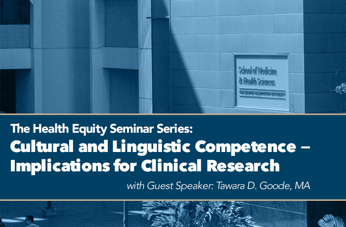 The Clinical and Translational Science Institute at Children's National (CTSI-CN) proudly presents: The Health Equity Seminar Series Event Banner