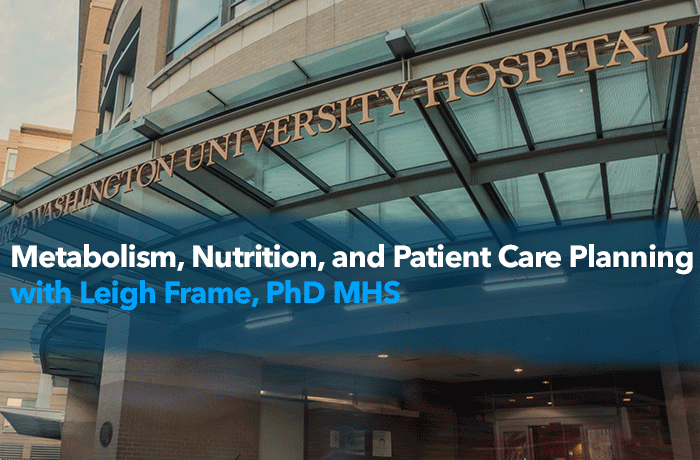 Metabolism, Nutrition, and Patient Care Planning Event Banner