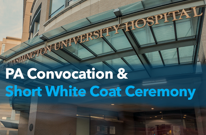 PA Convocation and short white coat ceremony