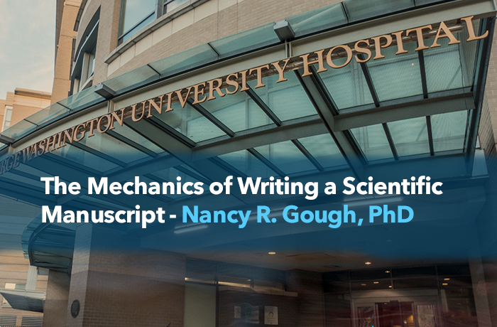 Writing Scientific Manuscript Event Banner