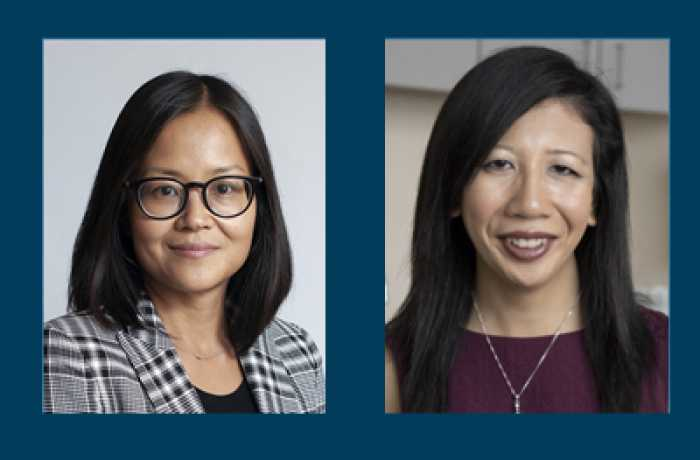 Dr. Nhi-Ha Trinh and Dr. Adrienne Poon