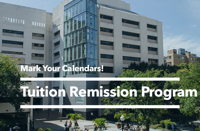 Tuition Remission Event Banner