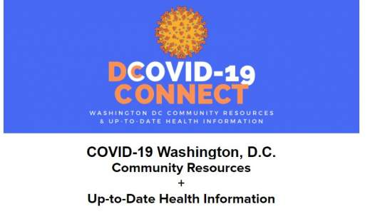 DC COVID Connect logo