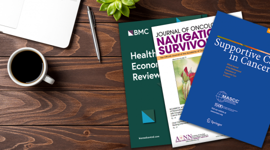 Members of the GW Cancer Center recently published several journal articles and patient-focused pieces highlighting the Center's work in patient navigation and survivorship.