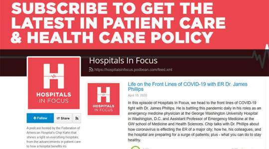 Hospitals in Focus - Life on the Front Lines of COVID-19