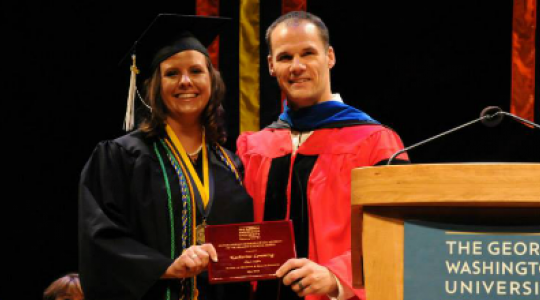 Student receives honor