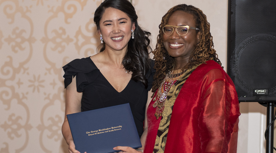 Medical students were recognized with awards at the MD Student Gala