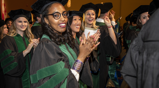 The MD Class of 2018 graduated on May 20