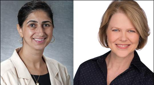 Trudy Mallinson, PhD, and Samar A. Nasser, PhD Headshots