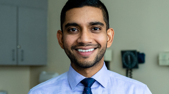 Vishal A. Patel, MD, will serve as the director of the recently established Cutaneous Oncology Program at the GW Cancer Center.