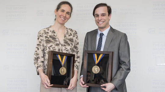 Aviva Ellenstein, MD, PhD, and Scott Cohen, MD