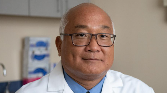 George Kim, MD, director of the Gastrointestinal Cancers Program at the GW Cancer Center