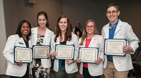PT student honorees