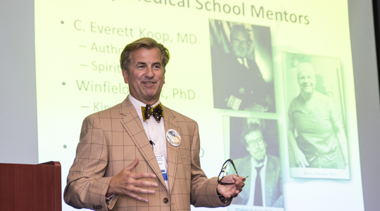 Mark Woodland, M.D. '85, RESD '87