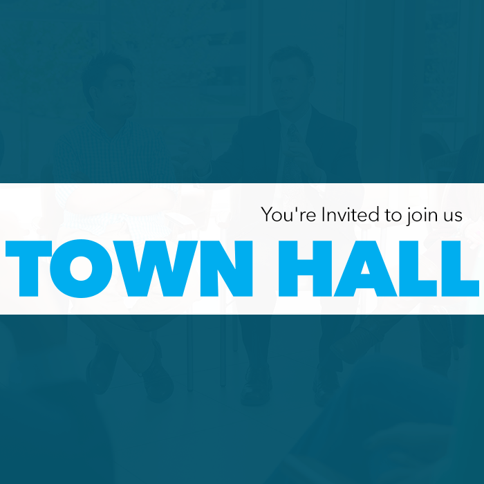 Town Hall Event Banner