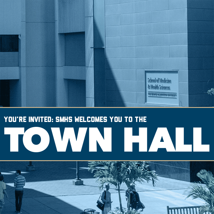 SMHS Town Hall Event Banner