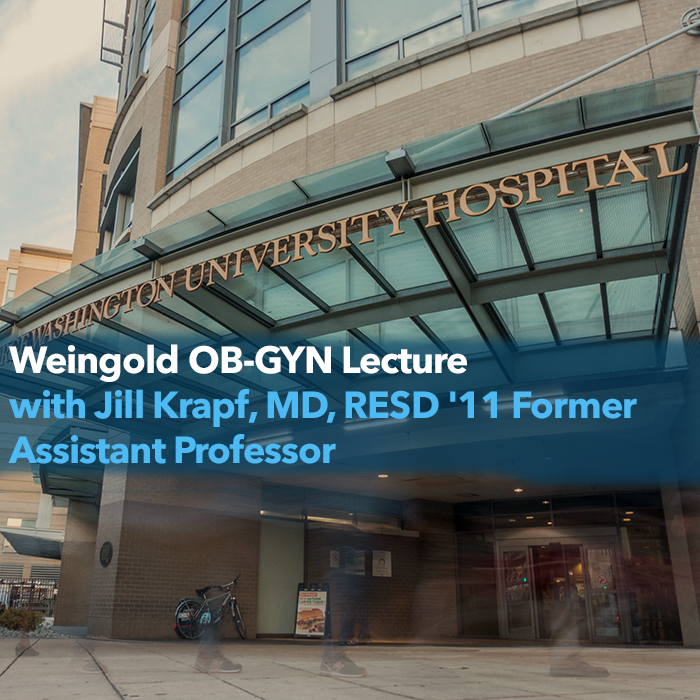 Weingold OB-GYN Lecture Event Banner
