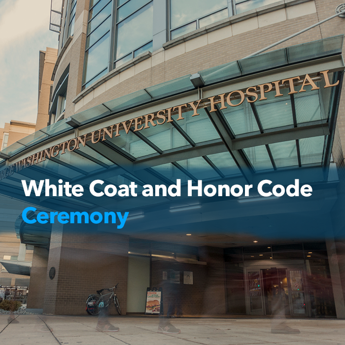 White Coat and Honor Code Ceremony Event Banner
