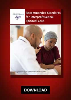 Recommended Standards for Interprofessional Spiritual Care