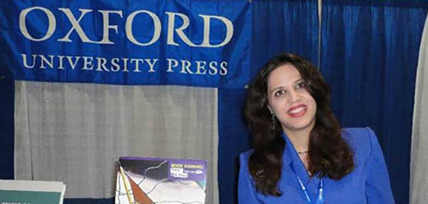 Dr. Najmeh Jafari at the APOS Conference in Tampa, FL